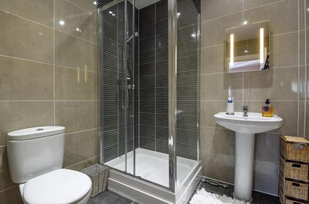 Shower room House to