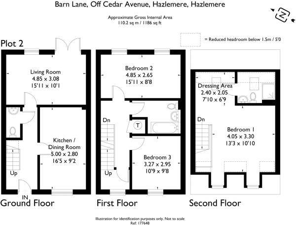 Plot 2 - Floorplan