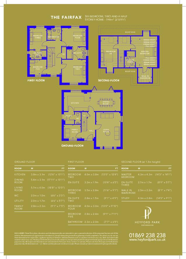 Fairfax - floorplan