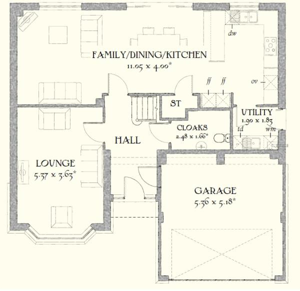 Henley home plans - Home plan