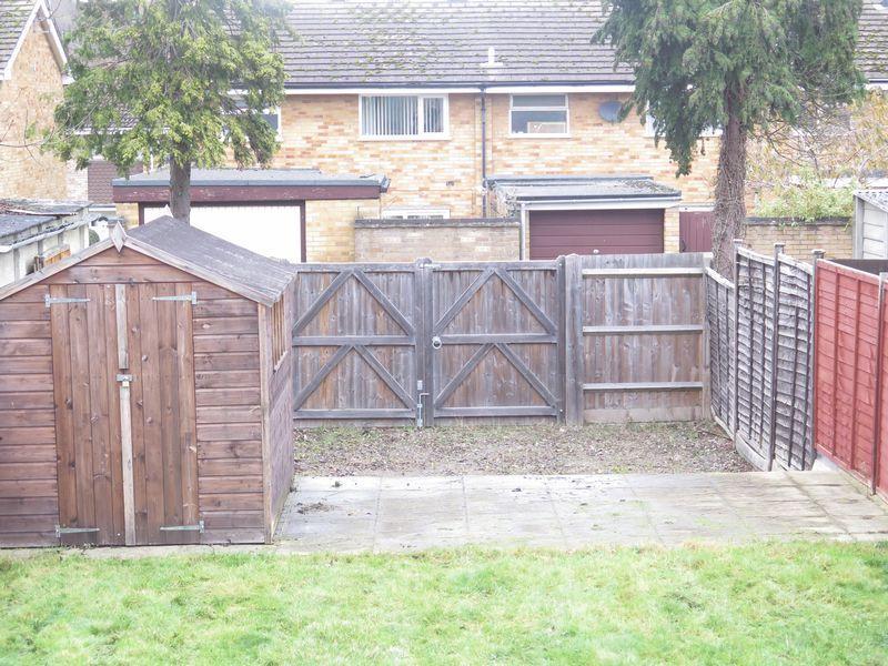 Rear gated access