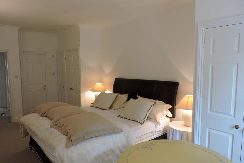 large bedroom with f