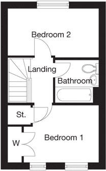 Taylor-Wimpey-Beckford-2-bed-first-level-floorplan