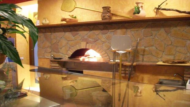 Pizzeria corner