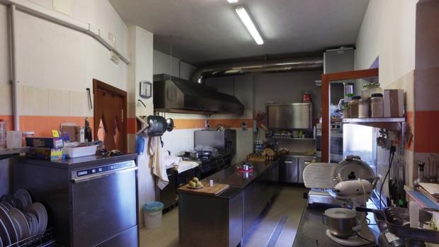 Restaurant's kitchen