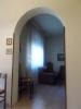 Living room arch way