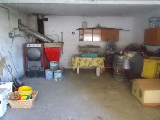 Storage boiler room