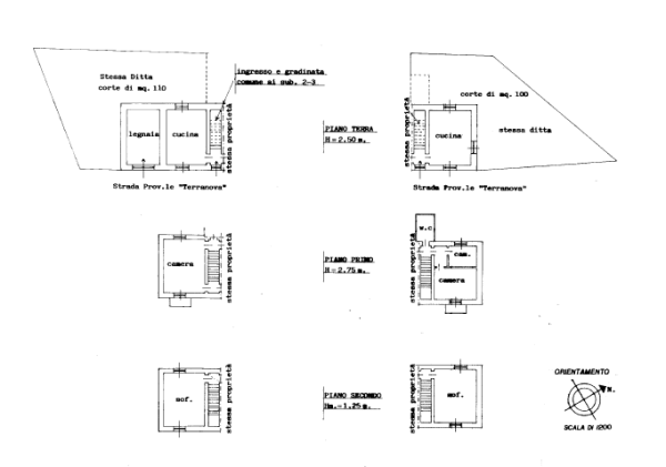 Internal floorplan