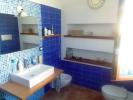 Living area bathroom