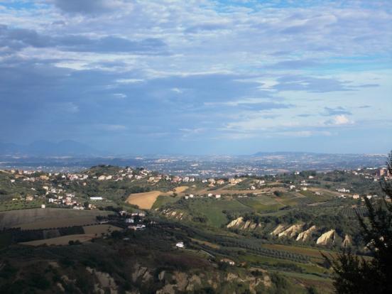 View from Bucchianic