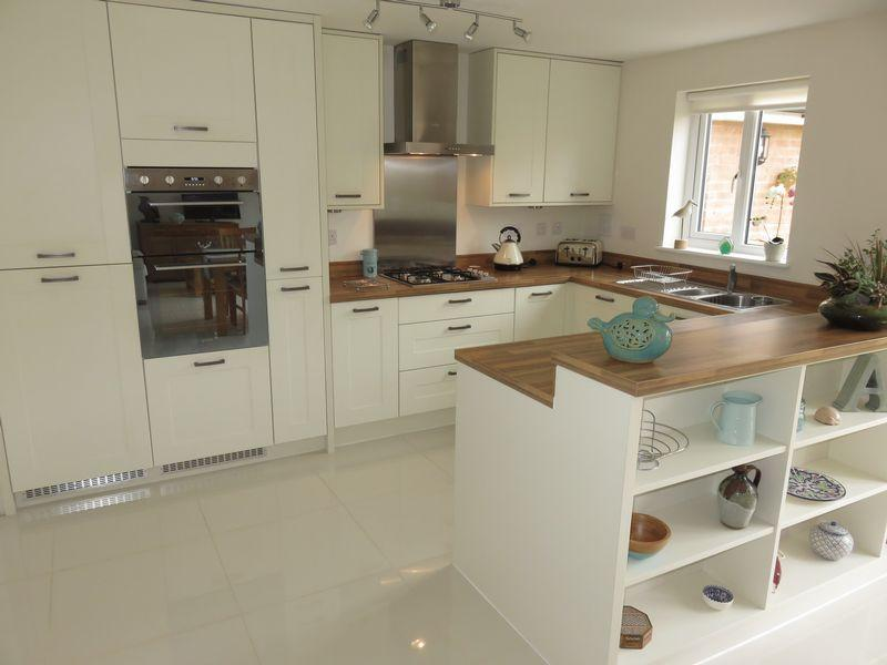 4 bedroom detached house for sale in toll house way chard for Italian kitchen fenton street