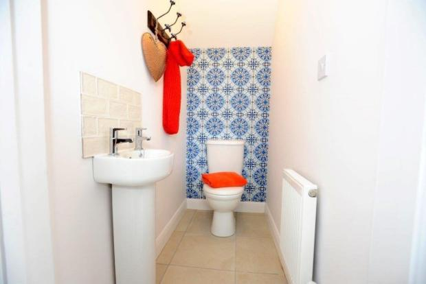 Showhome Cloakroom