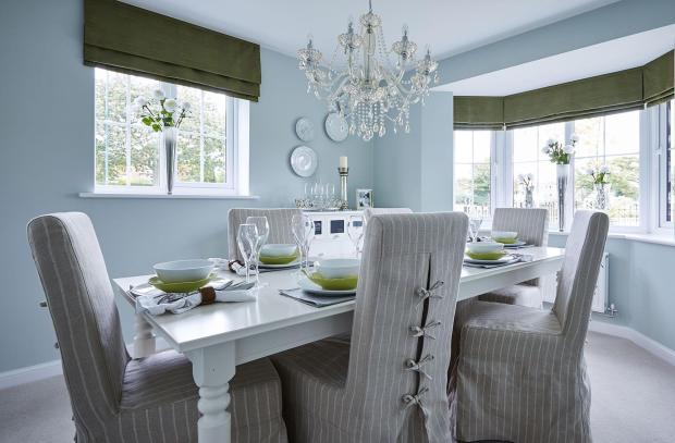 Bowbrook Meadows Alnwick separate dining room