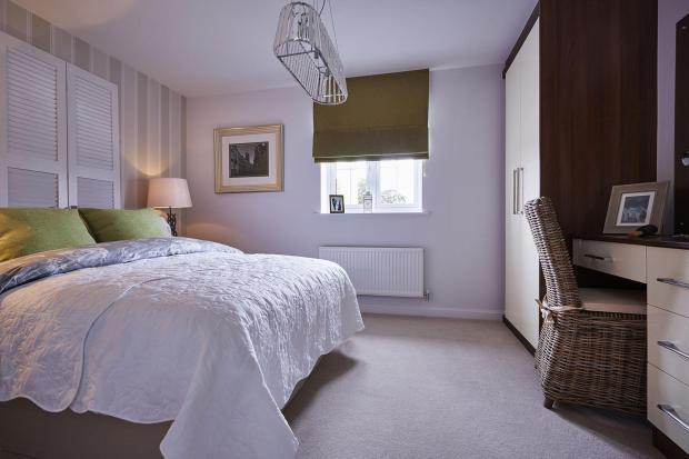 Bowbrook Meadows Alnwick second bedroom