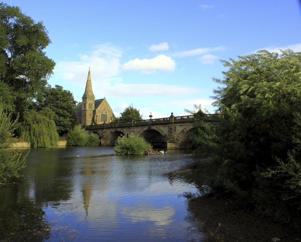 River Severn running through Shrewsbury