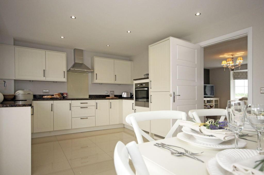 Typical Guisborough fitted kitchen with dining area
