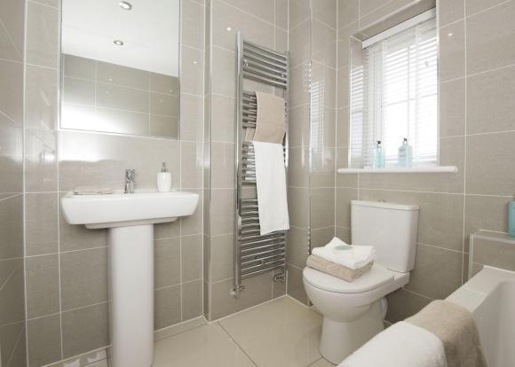 Typical Thornbury family bathroom