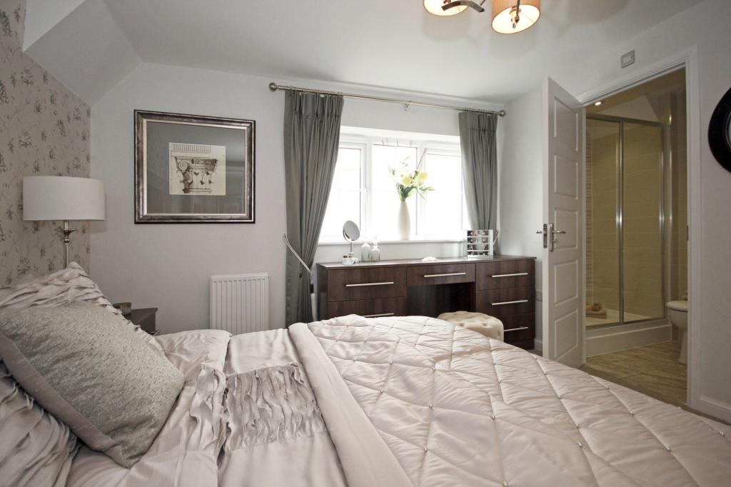 Typical Guisborough master bedroom with modern en suite