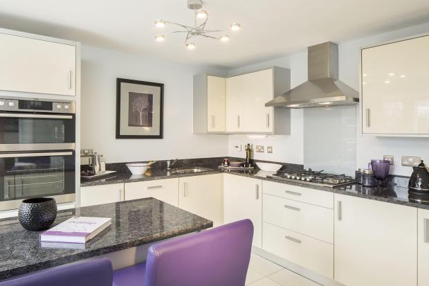 Typical Warwick fitted kitchen