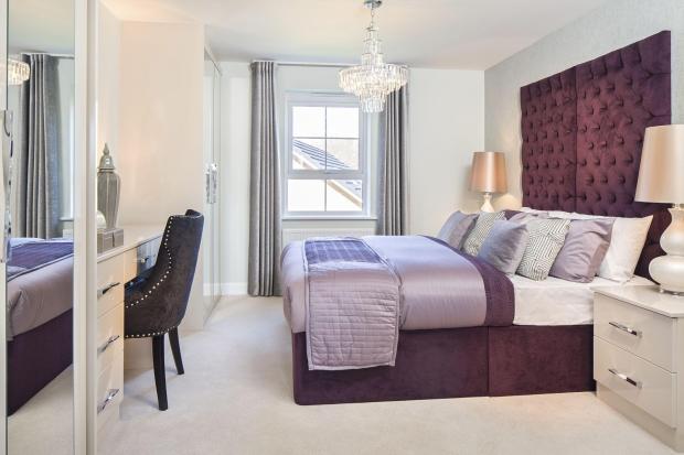 Typical Warwick master bedroom