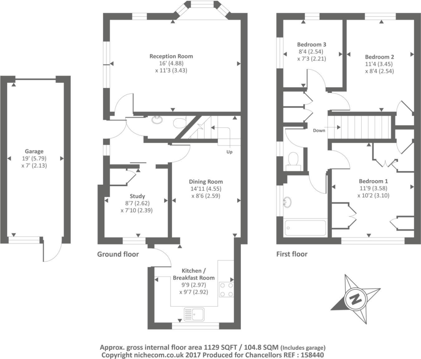 3 bedroom house for sale in wynford green aylesbury hp21 hp21