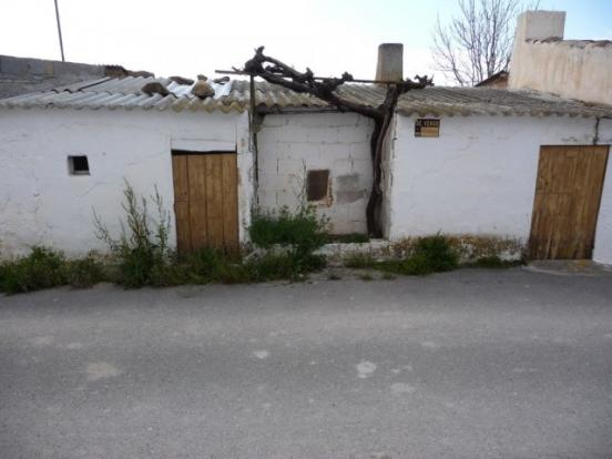 Outbuilding opposite the property