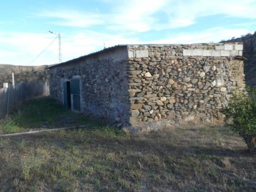 And a stone built shed