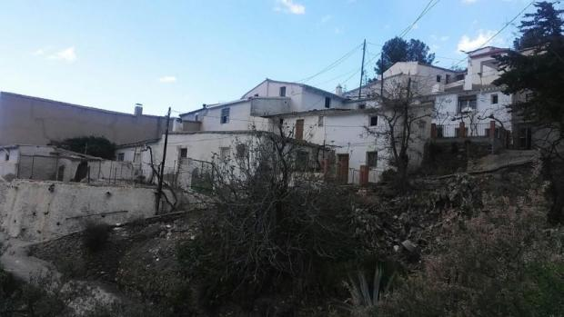 Large village property with garden