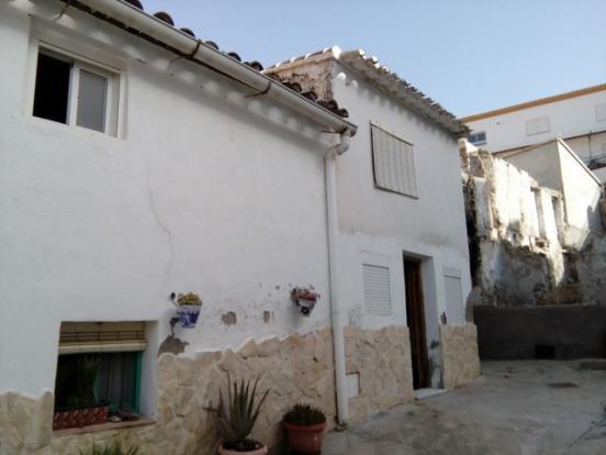 Village house in Bayarque.