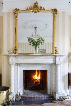 Fireplace - Drawing