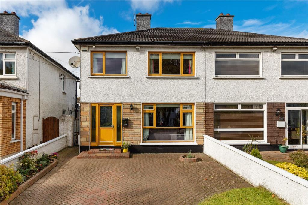 3 bedroom semi detached property in 10 Woodbine Park, Raheny...