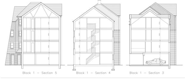 Block 1 view inside