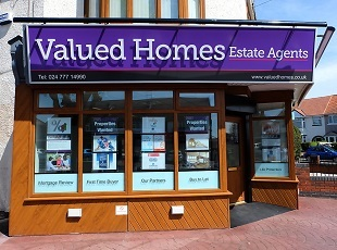 Valued Homes, Coventrybranch details