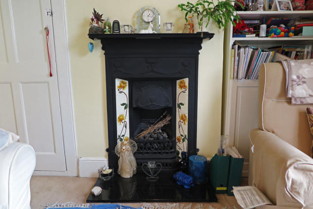 bedroom 3 fire place