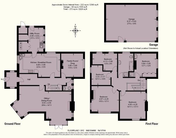 Floor Plan Westcliff