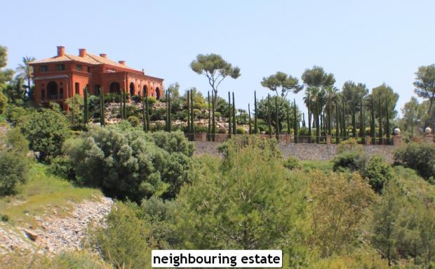 neighbouring estate
