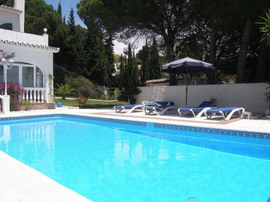 pool and gardens