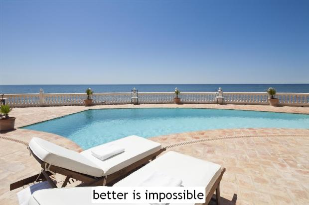 better is impossible