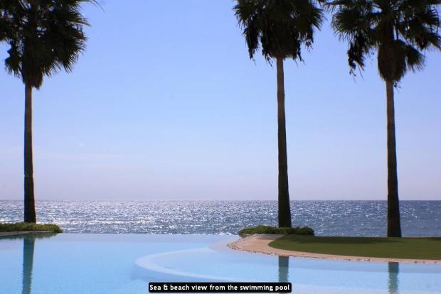 Sea & beach view fro