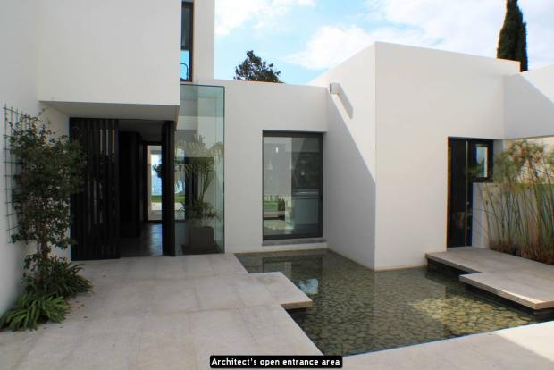 Architect's open ent