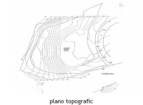 plano topografic