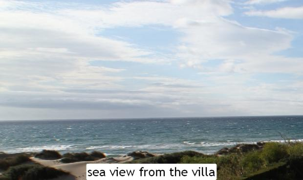 sea view from the vi