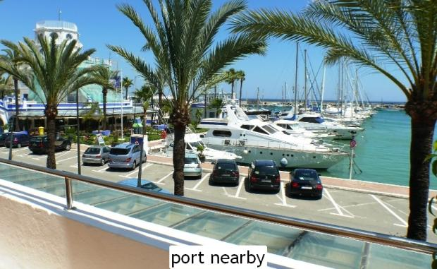 port nearby