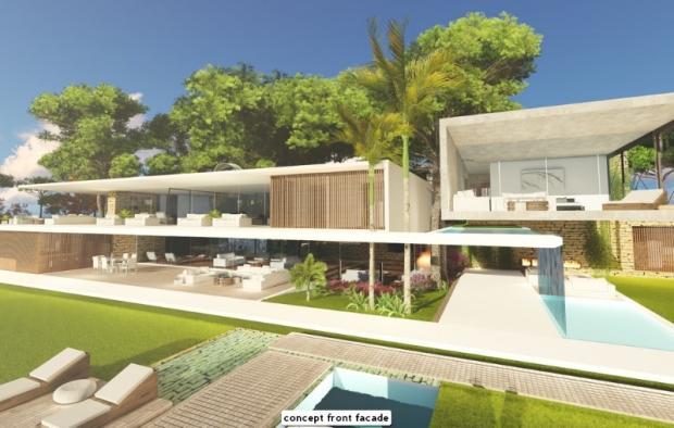 concept front facade