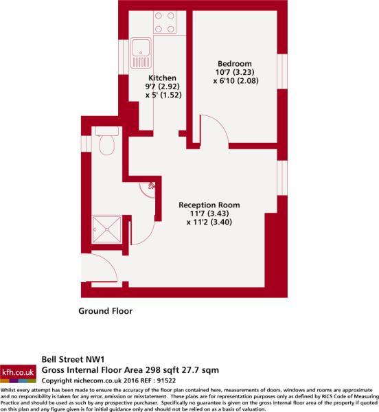 Floorplan - Niche