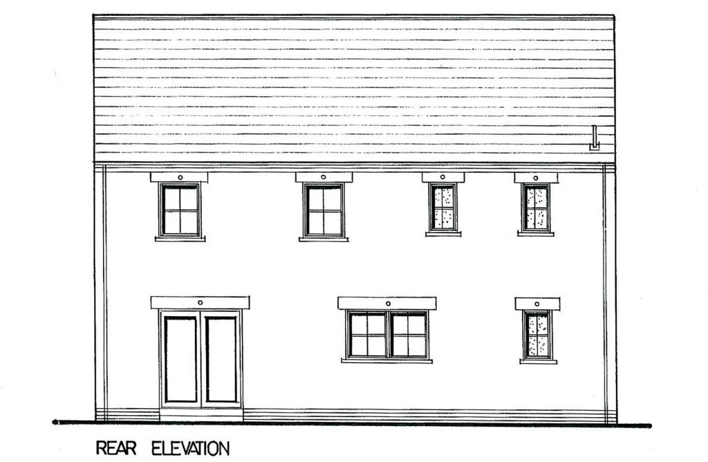 Proposed Rear Elevat