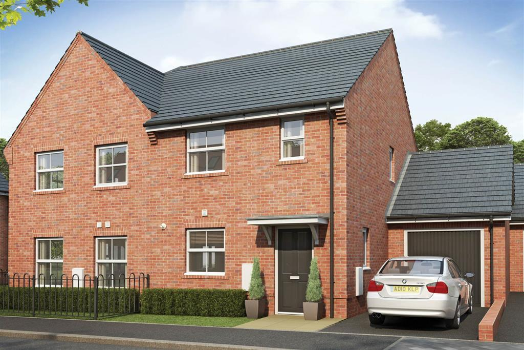 Artists impression of a typical Flatford home