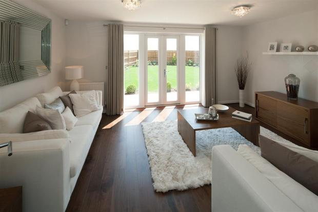 The Romans at Augusta Park - Crofton Showhome - Living Room