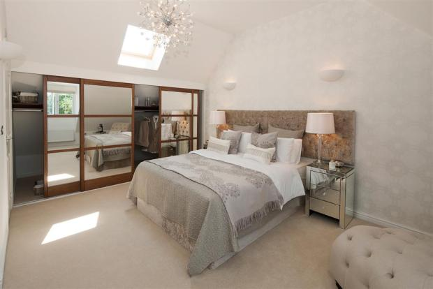 The Romans at Augusta Park - Crofton Showhome - Bedroom