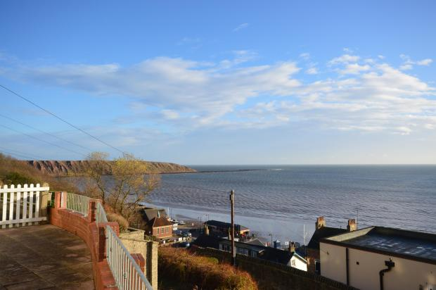 View of Filey Brigg
